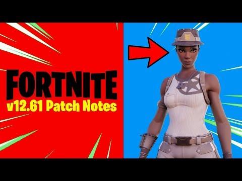 Fortnite V12.61 Patch Notes (New Fortnite Update)
