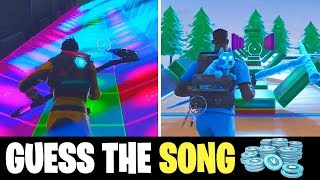 Guess These Popular Music Block Songs in Fortnite to Win..