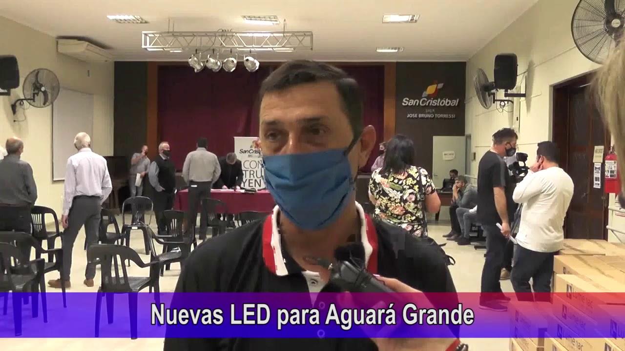 Nuevas LED para Aguará Grande