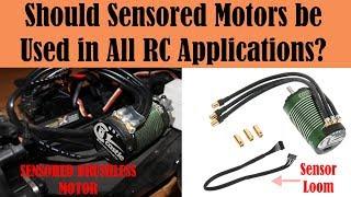 Applications of Sensored vs Sensorless Brushless Motors