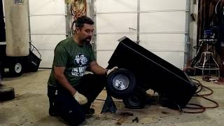 Replacing The Wheel Assembly On your Dump Cart