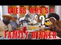 Mann Family Dinner Ep. 4 | Guess Who's Back?