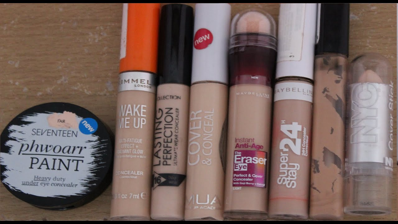 Drugstore Concealer Review Youtube