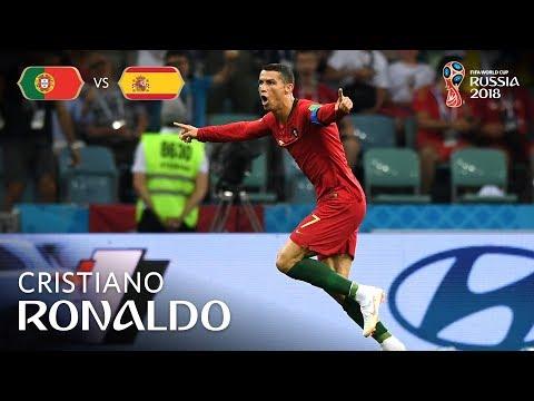 Cristiano RONALDO Goal 2 - Portugal v Spain - MATCH 3