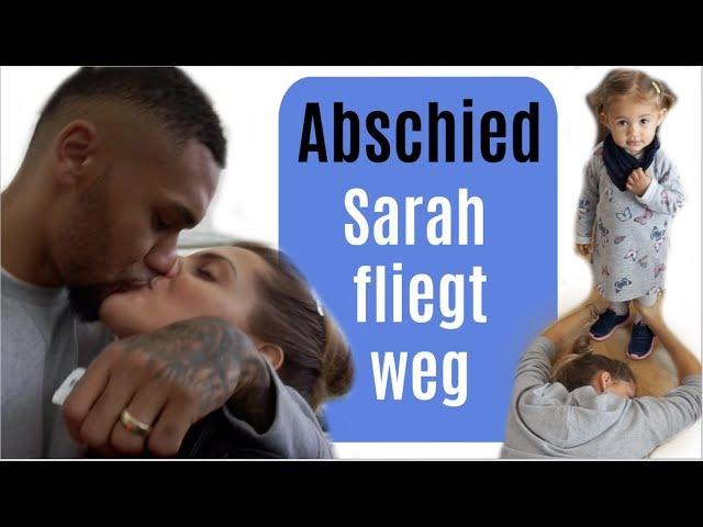 DER ABSCHIED 😭 SARAH FLIEGT ALLEINE NACH BALI
