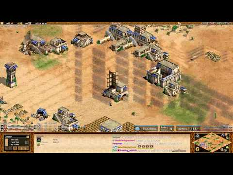 AoE2 - Arabia Turk War! Hearttt vs Eray!