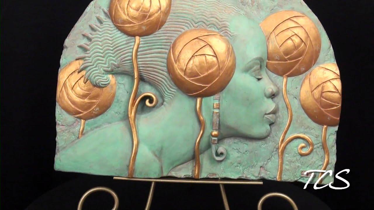 Ebony Visions Bas Relief Wall Art By Thomas Blackshear