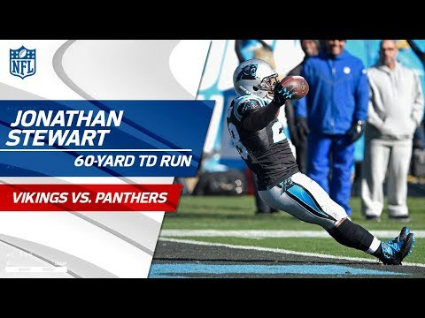 Jonathan Stewart's 60-Yd TD Run Set Up by Daryl Worley's INT! | Vikings vs. Panthers | NFL Wk 14