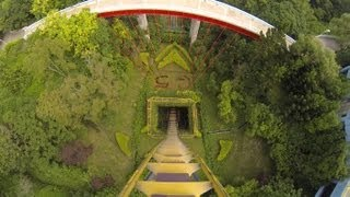 G5 Roller Coaster POV B&M Dive Machine Janfusun Fancyworld Taiwan