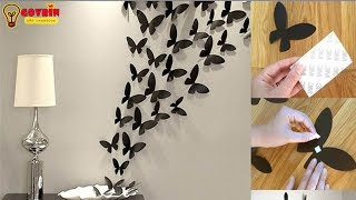 Easy Paper Butterfly Origami - Cute & Easy Butterfly | DIY Origami for Beginners