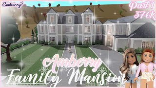 Bloxburg   Building Amberry a New Family House!   Part 1 Speed Build