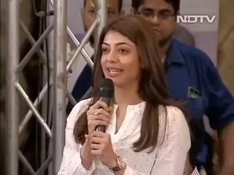 What is intuition? Kajal Aggarwal asks Sadhguru.