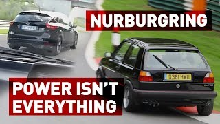 Mk2 Golf 8v VS Ford Focus ST