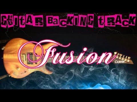 Fusion Guitar Backing Track (D Dorian) | 130 bpm - MegaBackingTracks