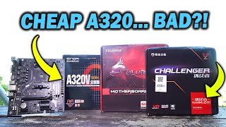 CHEAP Aliexpress A320 Motherboards - COMPLETE Crap or Hidden Value?