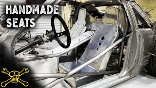 Handmade Aluminum Seats Get The Finishing Touches