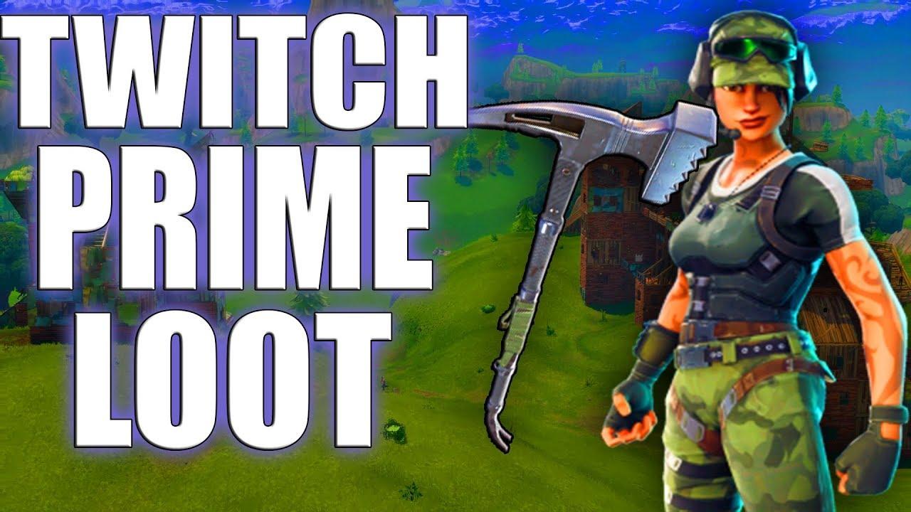 Fortnite New Twitch Prime Loot | V Bucks Epic Games Free