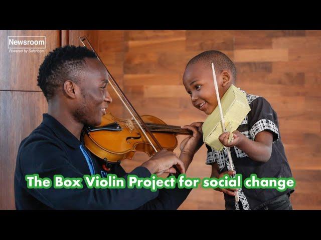 A boy, a box, and a future in music