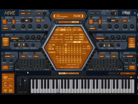 U-He Hive 1.2 with New Wavetable Sounds