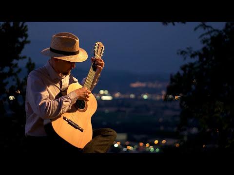 [4k UHD] Bizet: Je crois entendre encore - classical guitar tremolo (free sheet music)