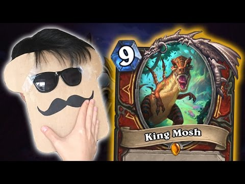 [Hearthstone]  8 NEW INTERACTIONS from Journey to Un'Goro (King Mosh, Time Warp, Swamp King Dred)