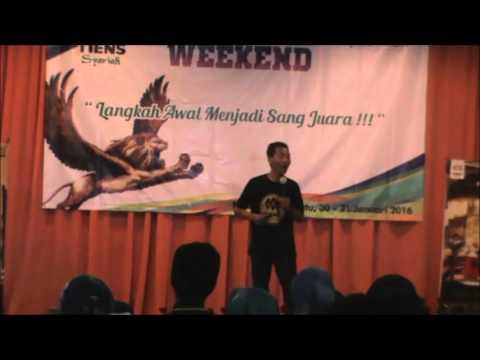 Tiens Agus Jos Pembicara Champion Weekend Part 1