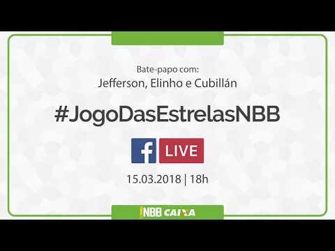 #JogoDasEstrelasNBB | Bate-papo das Estrelas Bate-papo com Jefferson, Elinho e Cubillán | 15.03.2018
