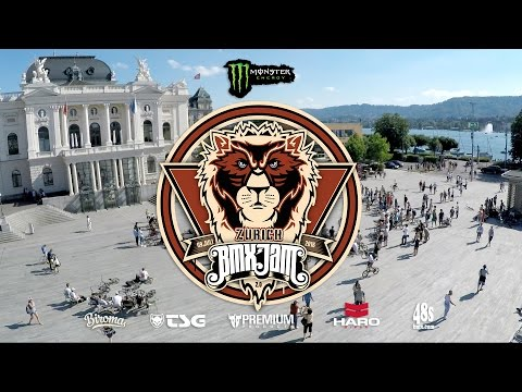 Monster BMX Zürich Street Jam 2016 The Movie