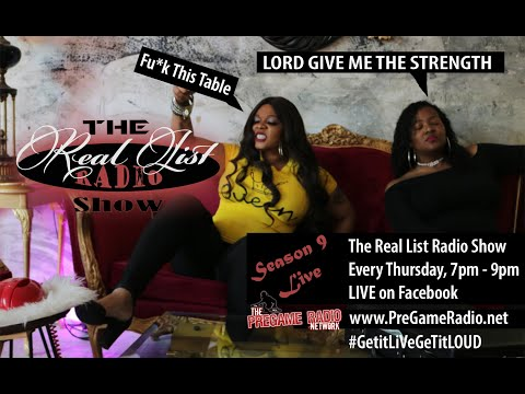 The Real List Radio Show | Season 9, Episode 5