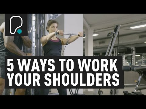 5 ways to workout your shoulders using the cable machine