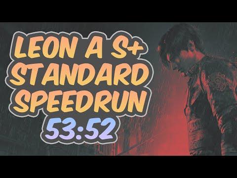 Resident Evil 2 Remake - Leon A Speedrun - 53:52