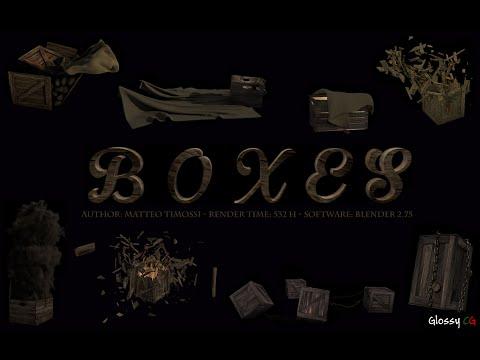 BOXES - CGI Simulation Show Reel