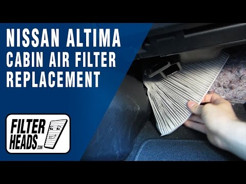 how to replace cabin air filter nissan altima 2013 2016. Black Bedroom Furniture Sets. Home Design Ideas