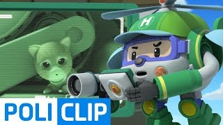 Special Mission! Save the kitty!   Robocar Poli Rescue Clips