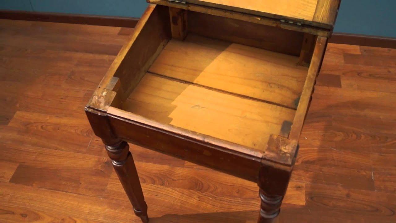Antique Flip Top Desk