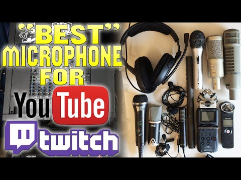 """BEST"" Microphone For YouTube Commentaries, Twitch Streaming, Podcasts, Vlogs 