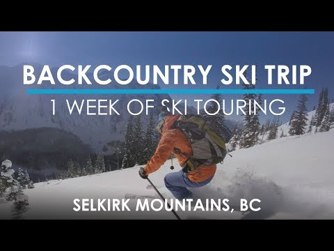 The Ultimate Backcountry Ski Experience - Powder Creek Lodge VLOG #3