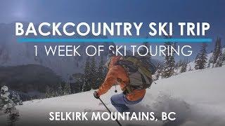 The Ultimate Backcountry Ski Experience - Powder Creek Lodge VLOG #3