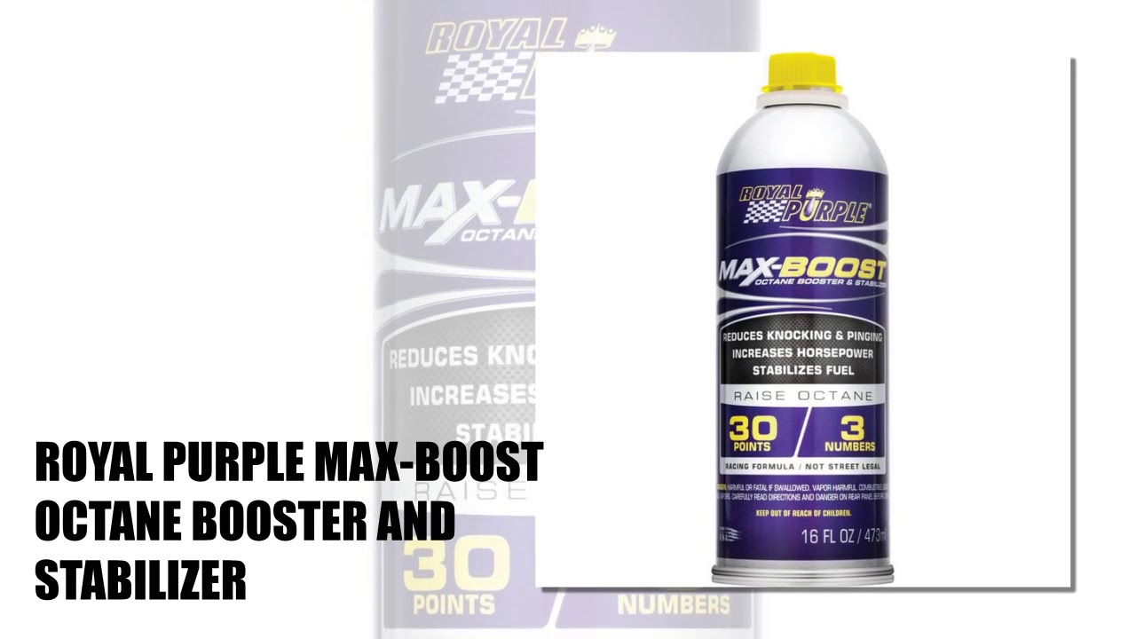 10 Best Octane Boosters 2018
