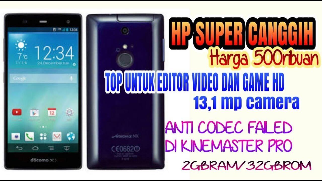 Hp Game Pubg Kualitas Hd: REVIEW HP CANGGIH TERMURAH 500RB-an FUJITSU ARROWS NX-F01F