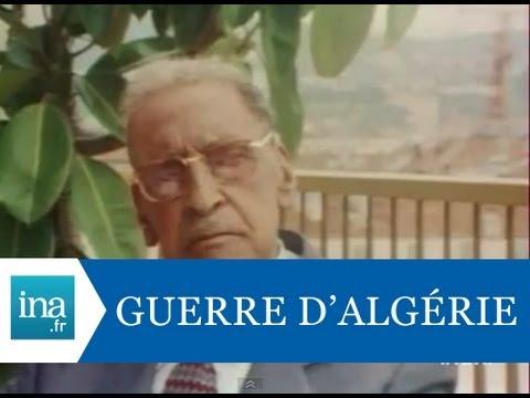 Ferhat Abbas et la guerre d'Algérie - Archive vidéo INA