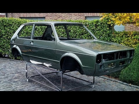 1980 Volkswagen Golf MK1 1.1 GG Full Restoration Project