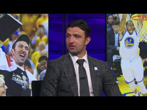 Zaza Pachulia Interview after  Warriors win 2017 ESPYS