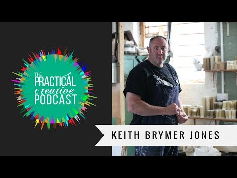 The Practical Creative Podcast interview with Keith Brymer Jones - Potter and Entrepreneur
