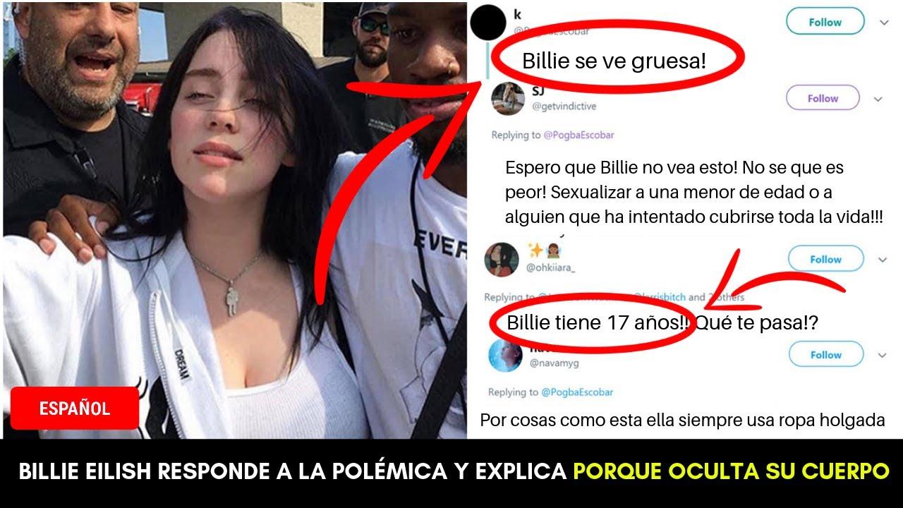 Billie Eilish Responde Al Polémico Tweet Y Explica Porque Oculta Su Cuerpo Con Ropa Holgada