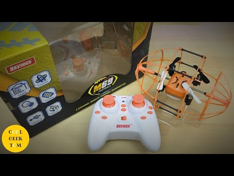 Skytech M69 Mini Football Wall Climbing Drone Review Beginne