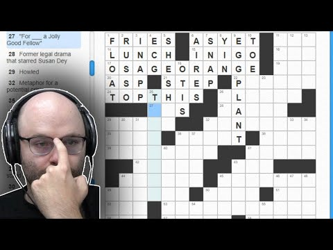 Getting my 'C' legs back (Crosswords)