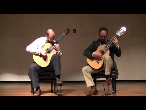 Athens Guitar Duo - The Miller's Dance (Manuel de Falla)