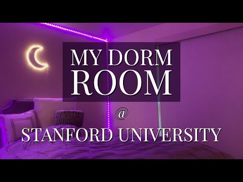 Stanford Dorm Room Tour! (The Newest Building on Campus)