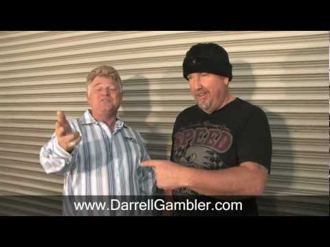 "Dan Dotson of American Auctioneers Visits Darrell ""The Gambler"" at his Warehouse"